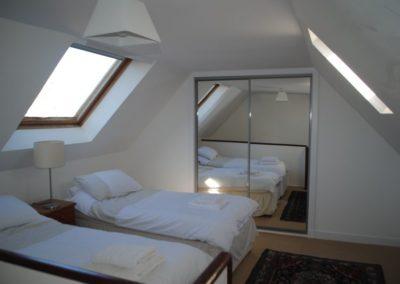 Upper twin room